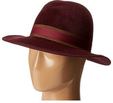 Hat Attack Velour Luxury Medium Brim
