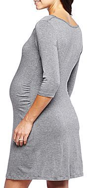 JCPenney Maternity Cowlneck Dress