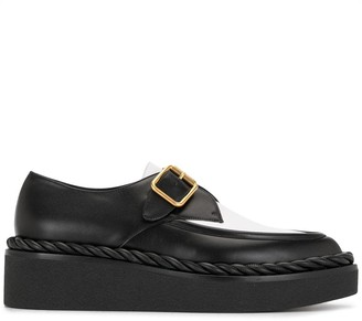 Valentino Two-Tone Loafers