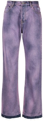 MSGM dyed jeans