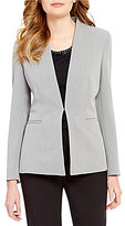 Preston & York Elana Textured Stretch Crepe Suiting Jacket