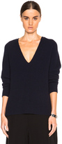 Helmut Lang Cashwool V Neck Sweater