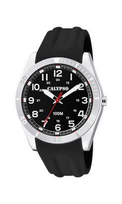 Calypso Watches Watches Unisex Adult Analogue Classic Quartz Watch with Plastic Strap K5763/2