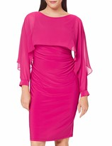 Thumbnail for your product : Gina Bacconi Women's Olma Jersey and Chiffon Dress Cocktail