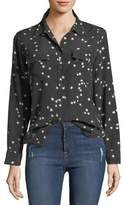 Equipment Slim Signature Star-Print Shirt