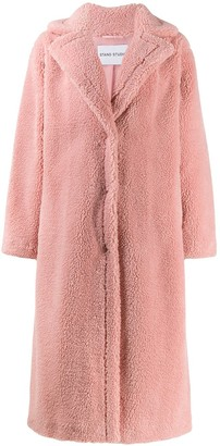 Stand Studio Oversized Faux-Shearling Coat