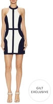 Finders Keepers Changing Lanes Colorblocked Sheath Dress
