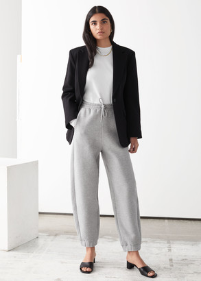 And other stories Oversized Organic Cotton Jogger Trousers