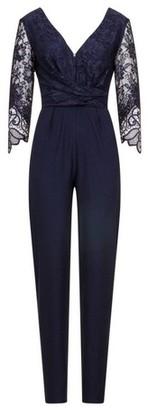 Dorothy Perkins Womens Little Mistress Navy 3/4 Sleeve Jumpsuit