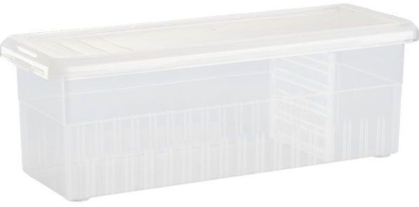 Crate & Barrel Ribbon Box