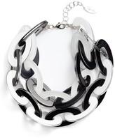 Adia Kibur Women's Resin Link Necklace