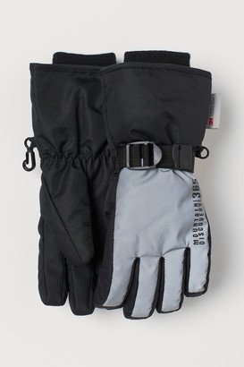 H&M Water-repellent Ski Gloves