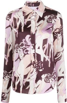 Victoria Victoria Beckham Jazz Club printed shirt