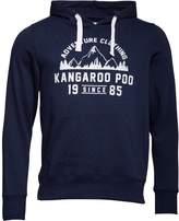 Kangaroo Poo Mens Fleece Hoody Navy