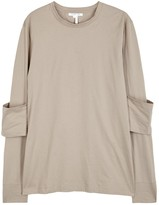 Helmut Lang Stone Cotton Top