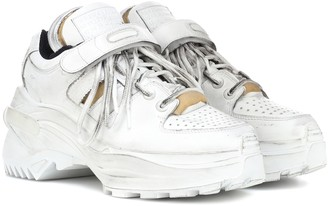 Maison Margiela Retro Fit leather sneakers