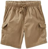 Osh Kosh Toddler Boy Drawstring Cargo Shorts