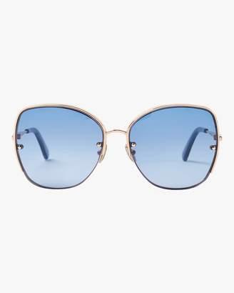 Roberto Cavalli Metal Squared &Snake& Sunglasses