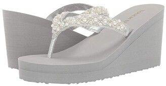 Touch Ups Shelly (Silver) Women's Shoes