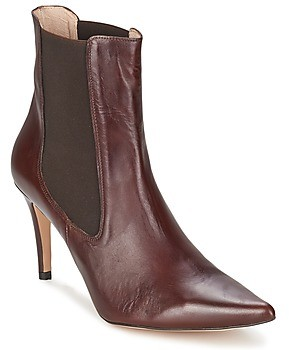 Alba Moda PIMTY women's Low Ankle Boots in Brown