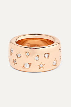 Pomellato 18-karat Rose Gold Diamond Ring
