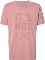Outerknown - slogan T-shirt - men - Cotton - S