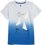 Tea Collection Sail Away Boat Graphic Tee