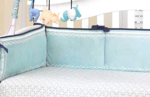 CoCalo Crib Bumper in Happy Animals