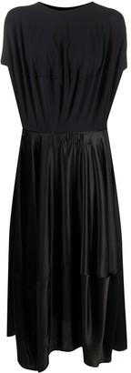 MM6 MAISON MARGIELA Draped Mid-Length Dress