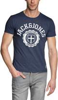 Jack and Jones Athletic Tee T-Shirt Navy