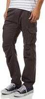 Rusty Eatya Cotton Coal Zip Button Belt Loop Mens Cargo Pants