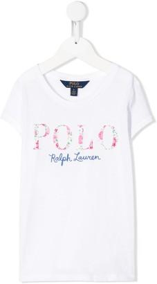 Ralph Lauren Kids logo-embroidered short-sleeved T-shirt
