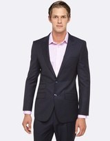 Oxford Hopkins Peak Lapel Wool Suit Jacket