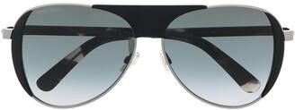 Jimmy Choo Rave aviator sunglasses