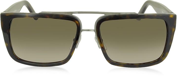 Marc Jacobs MARC 57/S Acetate Rectangular Aviator Men's Sunglasses