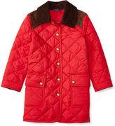 Ralph Lauren Long Snap-Front Barn Jacket