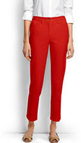Classic Women's Tall Mid Rise Chino Crop Pants-White