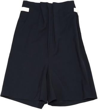 Acne Studios Navy Wool Jumpsuits