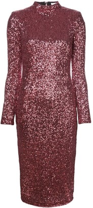 Rebecca Vallance Sequin Embellished Dress