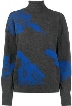 Christian Wijnants Jacquard Bird Motifs Jumper