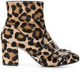 No.21 animal print boots
