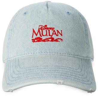 Disney Mulan Denim Baseball Cap