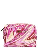 Emilio Pucci Chicago Print Pvc Make-Up Bag
