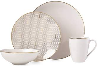 Lenox Trianna 4-Piece Porcelain Dinnerware Set