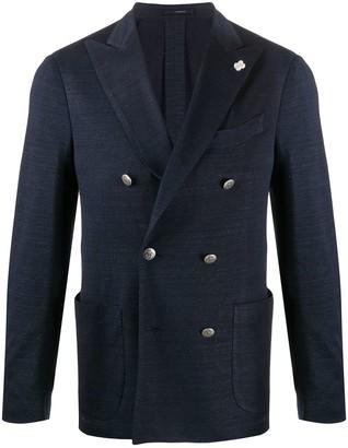 Lardini Tailored Linen Jacket