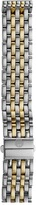 Michele 16mm Deco 16 Two-Tone 7-Link Bracelet Silver/Gold Watches