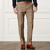 Ralph Lauren Purple Label Houndstooth Wool-Blend Trouser