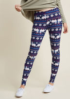ModCloth I Llama Wish You a Merry Christmas Leggings in S