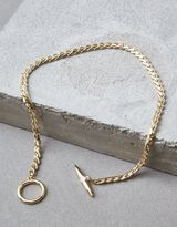 American Eagle Outfitters AE Gold Toggle Necklace