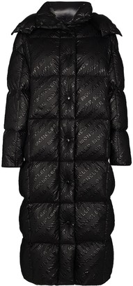 Moncler Parnaiba logo-print puffer coat